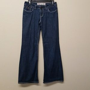 MOSSIMO BOOT CUT LOW RISE JEANS